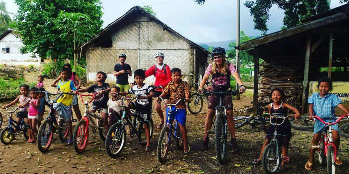 Mountainbiken auf den indonesischen Inseln Bali und Java